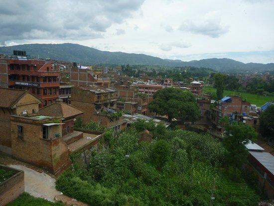 Heart of Bhaktapur Guest House: Uitzicht terras