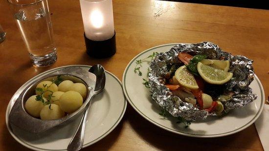 Olofstrom, Zweden: my dinner