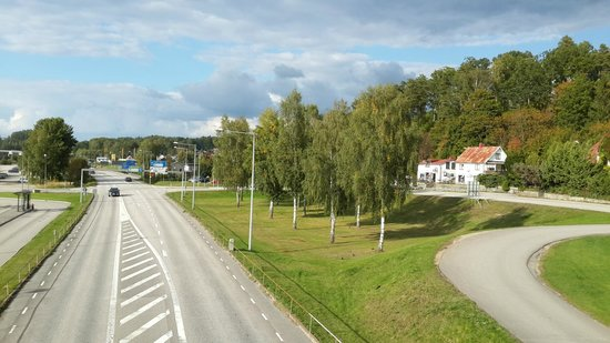 Olofstrom, สวีเดน: nearly road