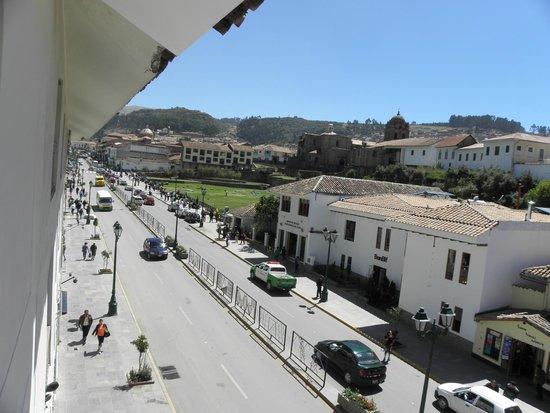 LP Los Portales Hotel Cusco: Vista da janela
