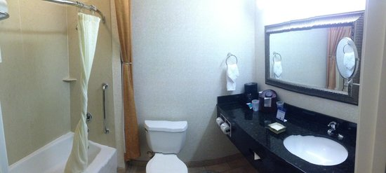 BEST WESTERN PLUS Hotel at the Convention Center : Spacious bathroom