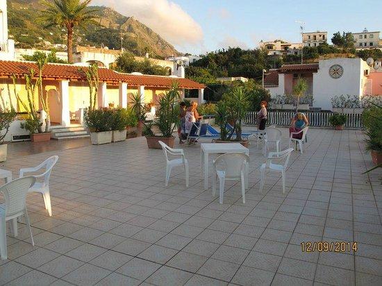 Hotel Colella Terme: solarium