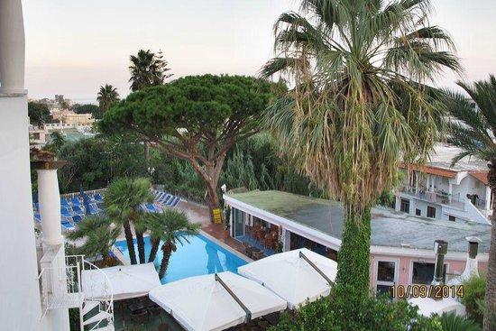 Hotel Colella Terme: Panorama dalla camera