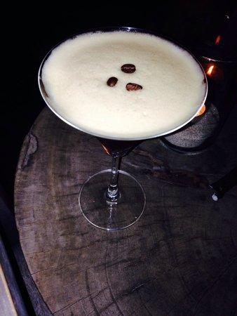 The Library: Coffee hazelnut martini