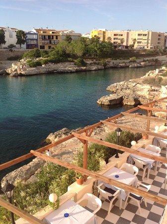 Cala Bona & Mar Blava Hotels: Hotel terrace overlooking Playa Grande