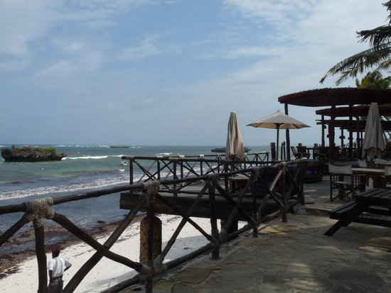 Ocean Sports Resort: View from terrace
