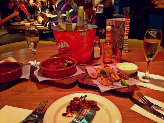 Las Iguanas - Newcastle: Tapas and drinks