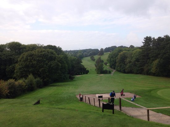 Breadsall Priory Marriott Hotel & Country Club: 17th on Priory