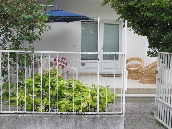 giardino, terrazzo - Bild von Villa Flora, Grado - TripAdvisor