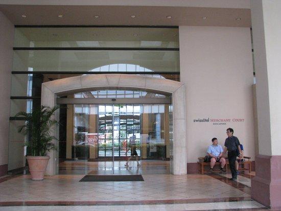 Swissotel Merchant Court Singapore: Hieno paikka