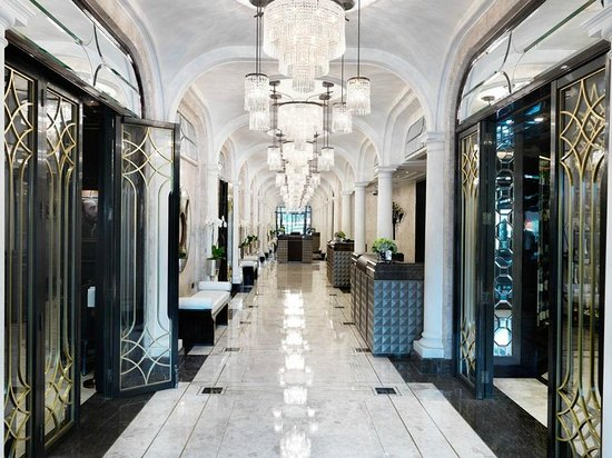 The Wellesley Knightsbridge A Luxury Collection Hotel London Lobby At