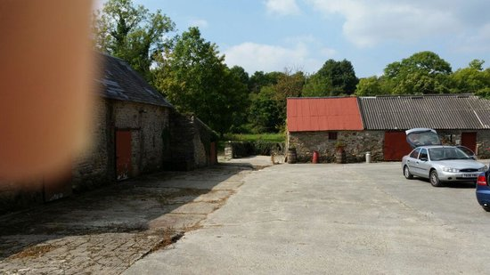 Carrick-on-Suir, Irlandia: old barns in court yard.