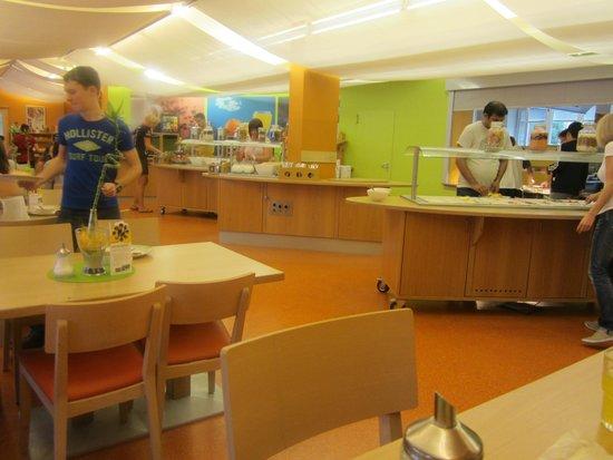 JUFA Hotel Salzburg City: Frühstücksbereich