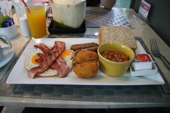 The Corner Restaurant: All day Breakfast