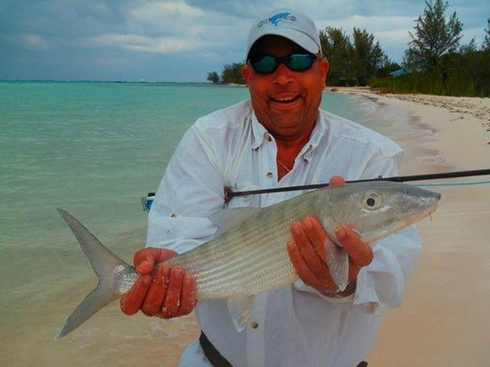 Fly fishing in grand cayman review of chasin tail cayman for Grand cayman fishing