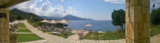 Hotel Mikros Paradisos: Sea view