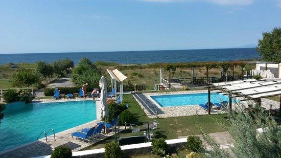 Samothraki Village Hotel: pool view