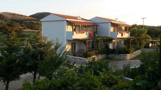 Samothraki Village Hotel: backyard view