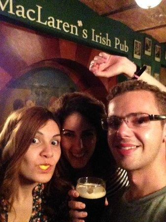 MacLaren's Irish Pub: Great night in MacLarens!