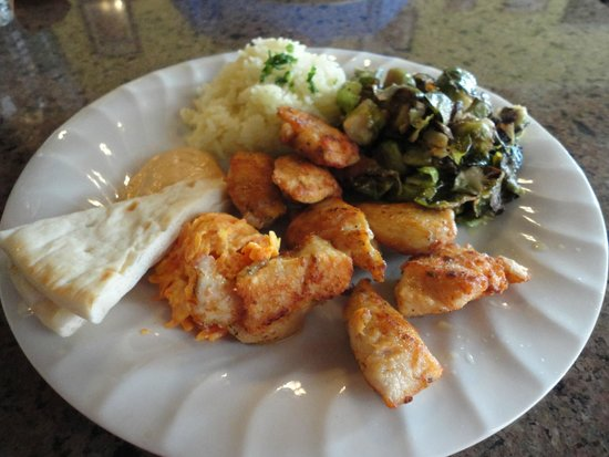 cafe zuppina: chicken shish-kebob