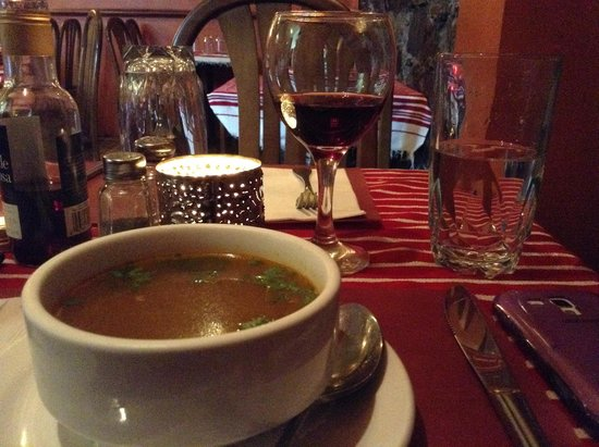 The Au Sahara: Délicieuse soupe marocaine!