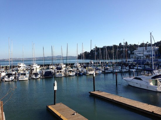 Waters Edge Hotel: Water's Edge view.  Ferry to SF outside our door!