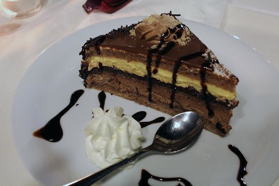 Andromeda Restaurant: Delicious dessert - not included in the buffet price