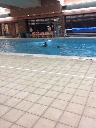 Crowne Plaza Tysons Corner: Indoor Pool area