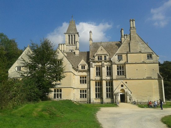 Woodchester Mansion from the front