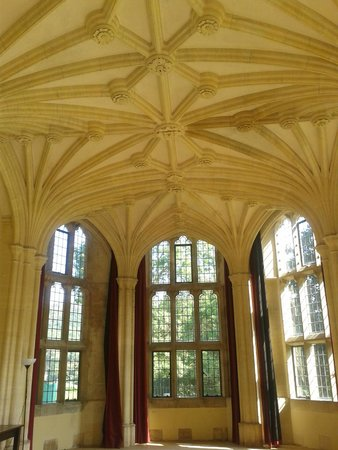 Woodchester Mansion: Inside one of the grand nearly finished rooms