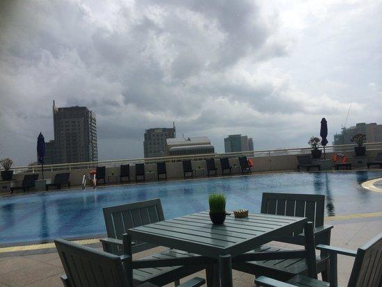 Sofitel Saigon Plaza: Rooftop view