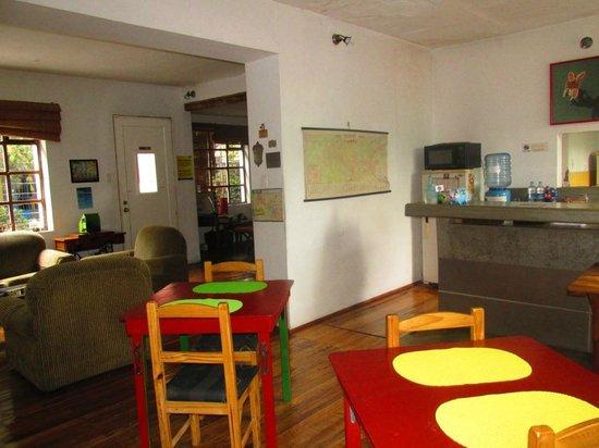 كاسا كانيلا: Área de desayuno