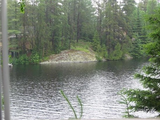 Horseshoe Island Camp: Scenery