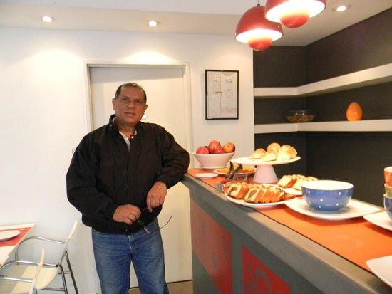 Nina Suites: En el desayuno muy Argentino