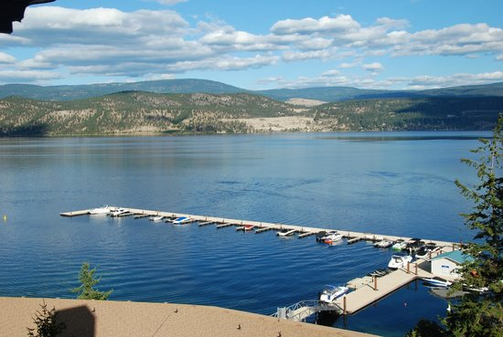 Lake Okanagan Resort: View from your room in the towers