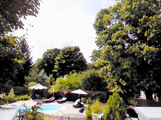 The Manse Boutique Inn & Spa: From the outdoor balcony