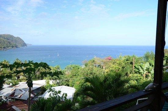 View from Carpe Diem Villa, Castara