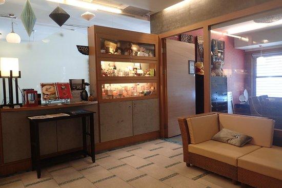 MF Harbor View Hotel Penghu : 飯店內吹吹冷氣
