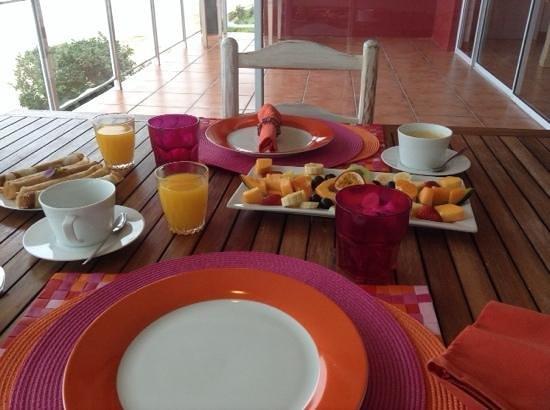 Dune Guest Lodge: breakfast
