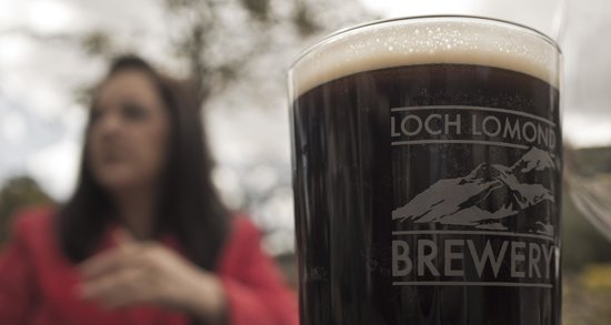 Loch Lomond Arms: the beer is good