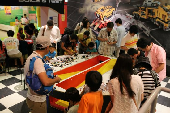 Entry to the 4D movie. - Picture of Legoland Discovery Center Tokyo, Minato -...