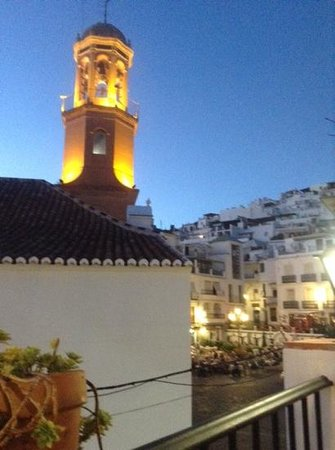 La Taberna de Oscar: The view from the terrace