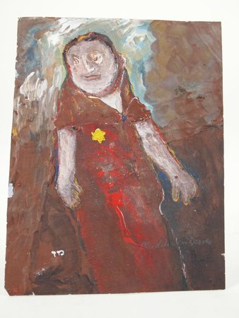 The National Holocaust Centre and Museum: Our smallest piece of artwork in the Collection.