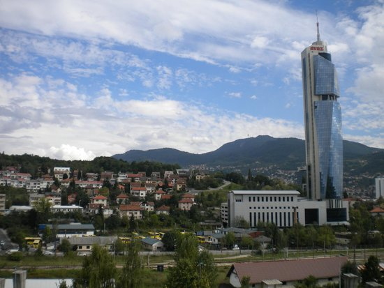 View From The Room Picture Of Hotel Grand Sarajevo Tripadvisor