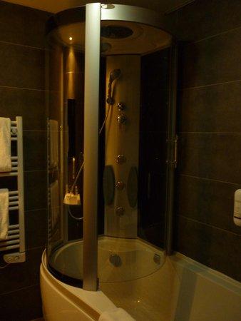 Appart'hôtel et Spa Odalys Ferney Genève: bathroom