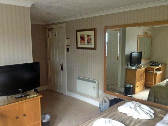 Auchrannie Spa Resort : View of entry