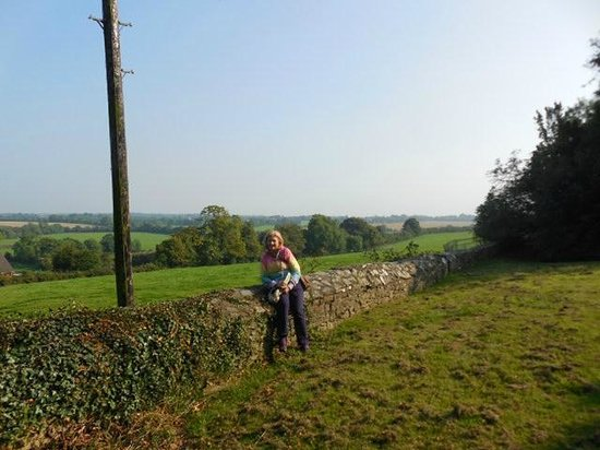 Athlumney Manor B&B: Maura at Hills of Tara local historical *must do