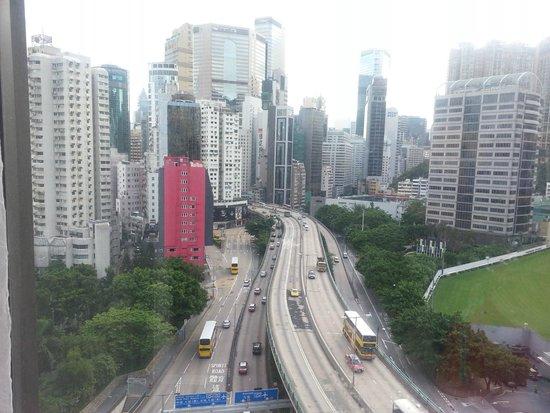 Dorsett Wanchai, Hong Kong : the view from 15th floor