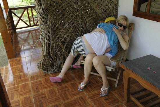 Bamboo Chalets : We are very upset to be stolen
