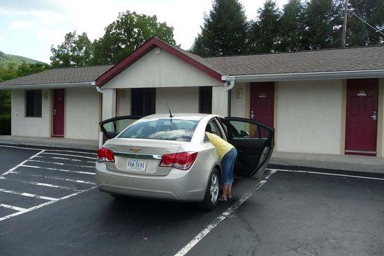 Appalachian Motel: Frontseite